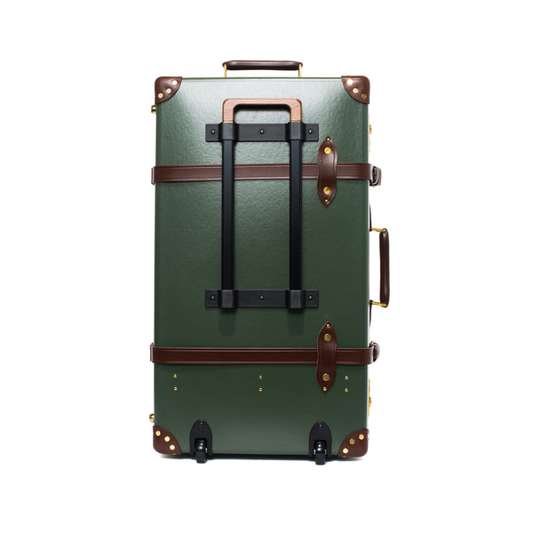"Globe-Trotter - 26"" Trolly Case - Olive Green & Brass - MAN of the WORLD Online Destination for Men's Lifestyle - 5"