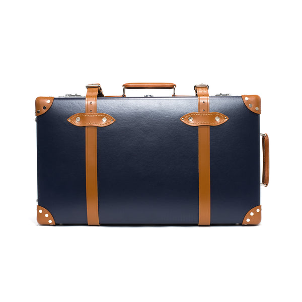"Globe-Trotter - 26"" Trolly Case - Navy & Chrome - MAN of the WORLD Online Destination for Men's Lifestyle - 6"