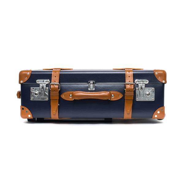 "Globe-Trotter - 26"" Trolly Case - Navy & Chrome - MAN of the WORLD Online Destination for Men's Lifestyle - 8"