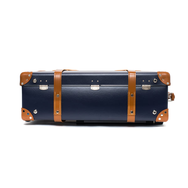 "Globe-Trotter - 26"" Trolly Case - Navy & Chrome - MAN of the WORLD Online Destination for Men's Lifestyle - 7"