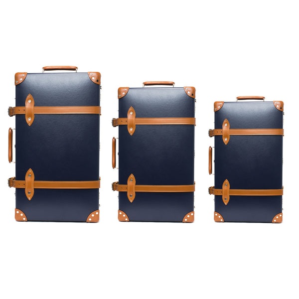 "Globe-Trotter - 26"" Trolly Case - Navy & Chrome - MAN of the WORLD Online Destination for Men's Lifestyle - 3"