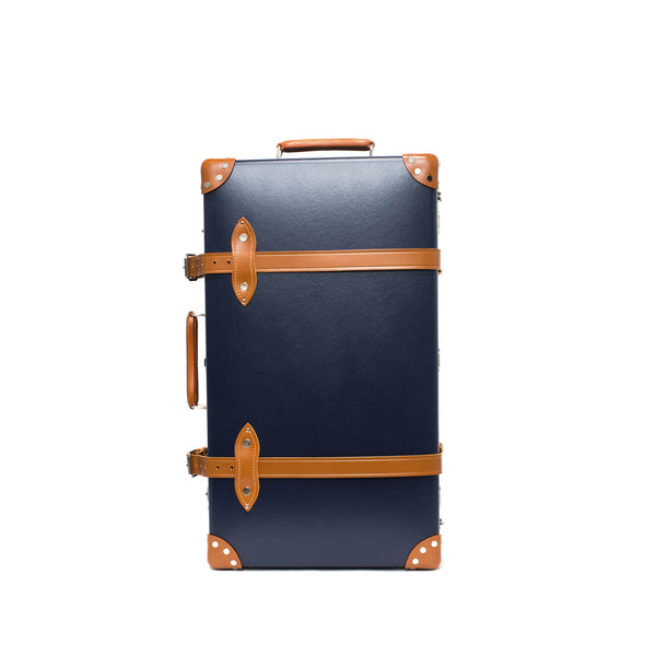 "Globe-Trotter - 26"" Trolly Case - Navy & Chrome - MAN of the WORLD Online Destination for Men's Lifestyle - 1"
