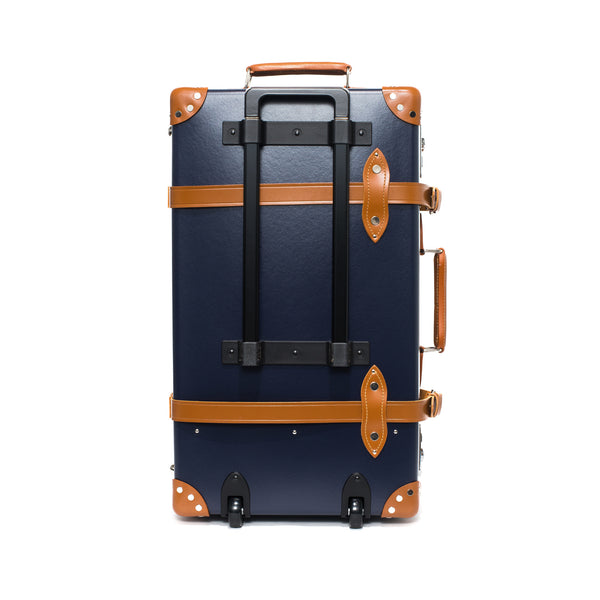 "Globe-Trotter - 26"" Trolly Case - Navy & Chrome - MAN of the WORLD Online Destination for Men's Lifestyle - 5"