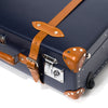 "Globe-Trotter - 30"" Trolly Case - Navy & Chrome - MAN of the WORLD Online Destination for Men's Lifestyle - 12"
