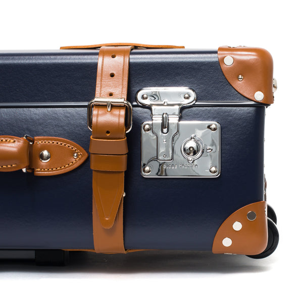 "Globe-Trotter - 30"" Trolly Case - Navy & Chrome - MAN of the WORLD Online Destination for Men's Lifestyle - 11"