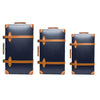 "Globe-Trotter - 30"" Trolly Case - Navy & Chrome - MAN of the WORLD Online Destination for Men's Lifestyle - 3"