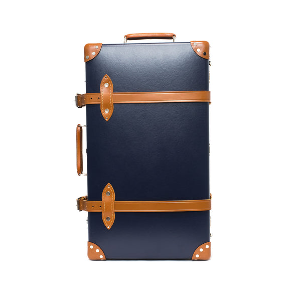 "Globe-Trotter - 30"" Trolly Case - Navy & Chrome - MAN of the WORLD Online Destination for Men's Lifestyle - 4"