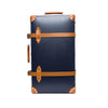 "Globe-Trotter - 30"" Trolly Case - Navy & Chrome - MAN of the WORLD Online Destination for Men's Lifestyle - 1"