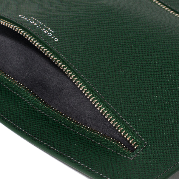 Globe-Trotter - Double Zip Currency Wallet - Green - MAN of the WORLD Online Destination for Men's Lifestyle - 5