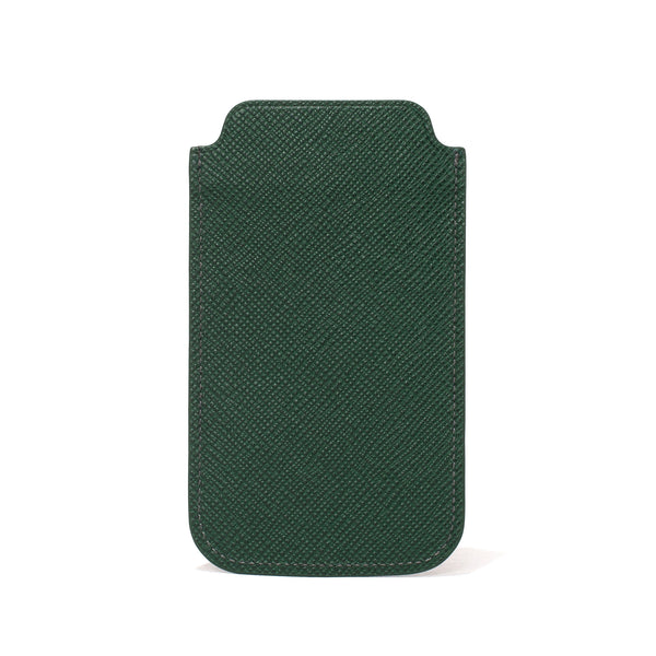 Globe-Trotter - Leather iPhone Sleeve - Green - MAN of the WORLD Online Destination for Men's Lifestyle - 5