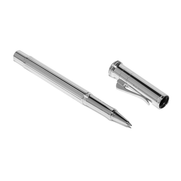 Graf von Faber-Castell - Classic Sterling Silver Rollerball Pen - MAN of the WORLD Online Destination for Men's Lifestyle - 3