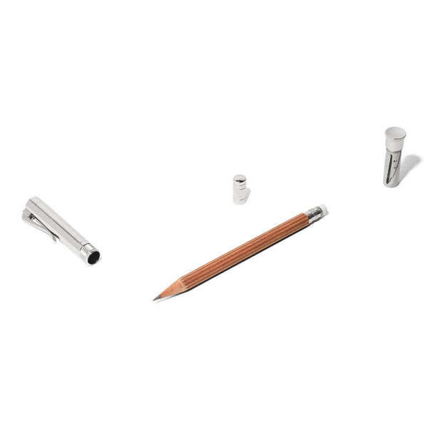 Graf von Faber-Castell - Perfect Pencil Platinum Plated Brown - MAN of the WORLD Online Destination for Men's Lifestyle - 3