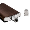 Gucci - Silver Plate Leather Wrapped Flask - MAN of the WORLD Online Destination for Men's Lifestyle - 4