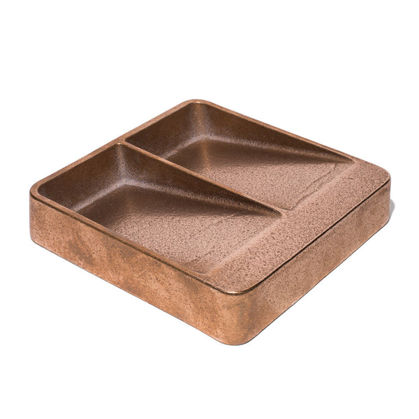 Gunmetal Bronze Double Sided Catchall