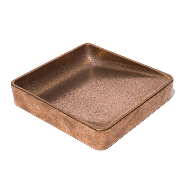 HENRY WILSON - Gunmetal Bronze Double Sided Catchall - MAN of the WORLD Online Destination for Men's Lifestyle - 2