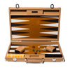 Hector Saxe - Competition Backgammon Board Cognac Leather - MAN of the WORLD Online Destination for Men's Lifestyle - 1