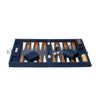 Hector Saxe - Medium Backgammon Board Denim & Leather - MAN of the WORLD Online Destination for Men's Lifestyle - 2