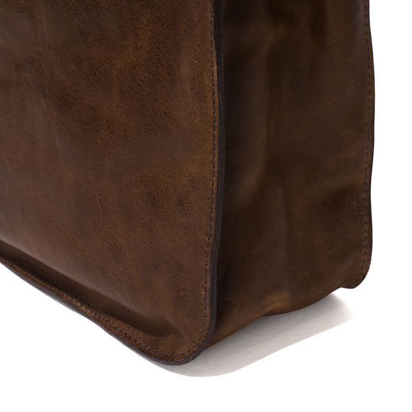 IL BISONTE - Cowhide Briefcase - Brown - MAN of the WORLD Online Destination for Men's Lifestyle - 9
