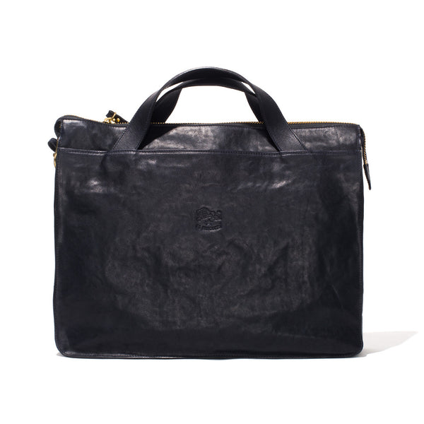 IL BISONTE - Cowhide Briefcase - Navy - MAN of the WORLD Online Destination for Men's Lifestyle - 2