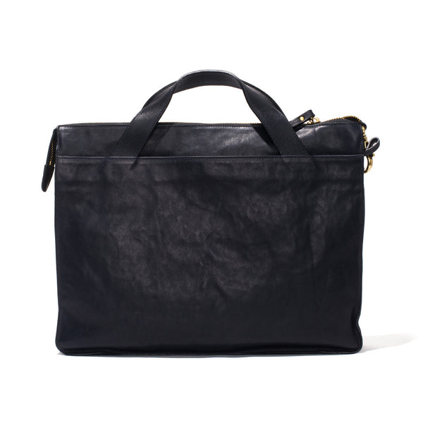IL BISONTE - Cowhide Briefcase - Navy - MAN of the WORLD Online Destination for Men's Lifestyle - 3