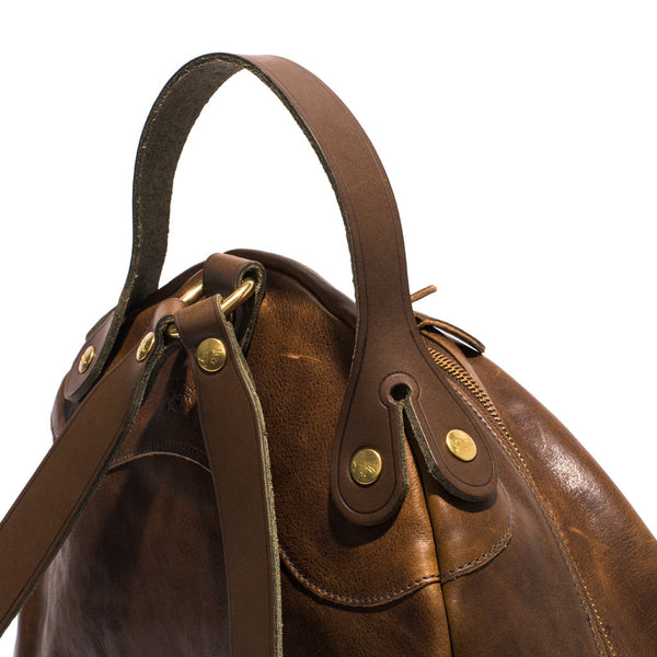 IL BISONTE - Cowhide Backpack - Brown - MAN of the WORLD Online Destination for Men's Lifestyle - 3