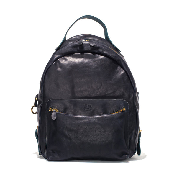 IL BISONTE - Cowhide Backpack - Navy - MAN of the WORLD Online Destination for Men's Lifestyle - 1
