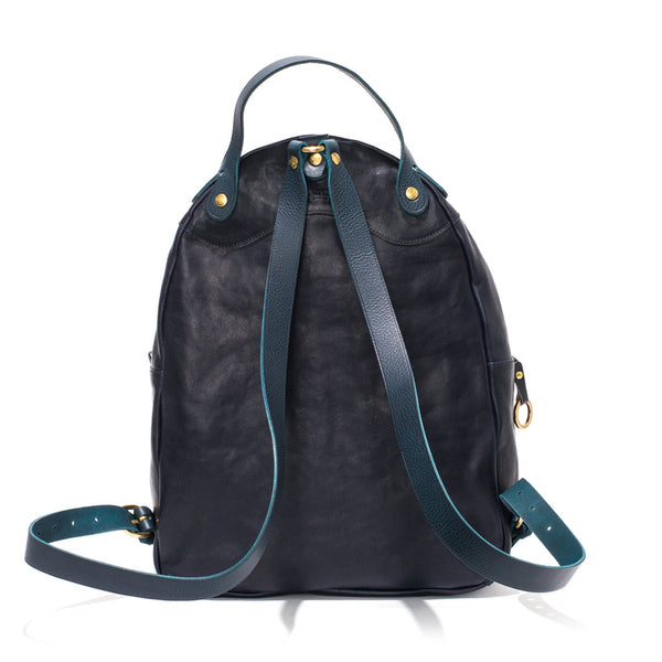 IL BISONTE - Cowhide Backpack - Navy - MAN of the WORLD Online Destination for Men's Lifestyle - 2
