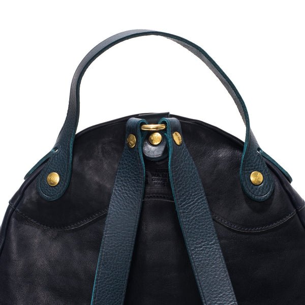 IL BISONTE - Cowhide Backpack - Navy - MAN of the WORLD Online Destination for Men's Lifestyle - 3