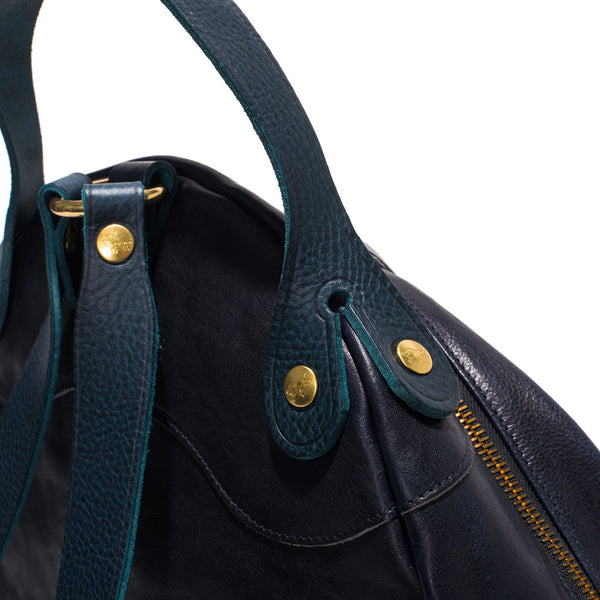 IL BISONTE - Cowhide Backpack - Navy - MAN of the WORLD Online Destination for Men's Lifestyle - 6