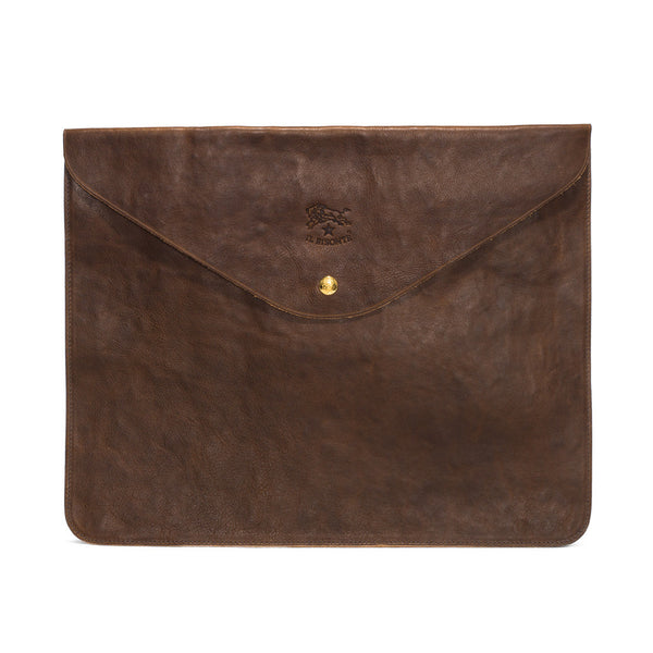IL BISONTE - Cowhide Document Holder - Brown - MAN of the WORLD Online Destination for Men's Lifestyle - 1