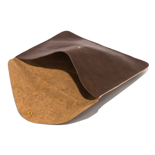 IL BISONTE - Cowhide Document Holder - Brown - MAN of the WORLD Online Destination for Men's Lifestyle - 5