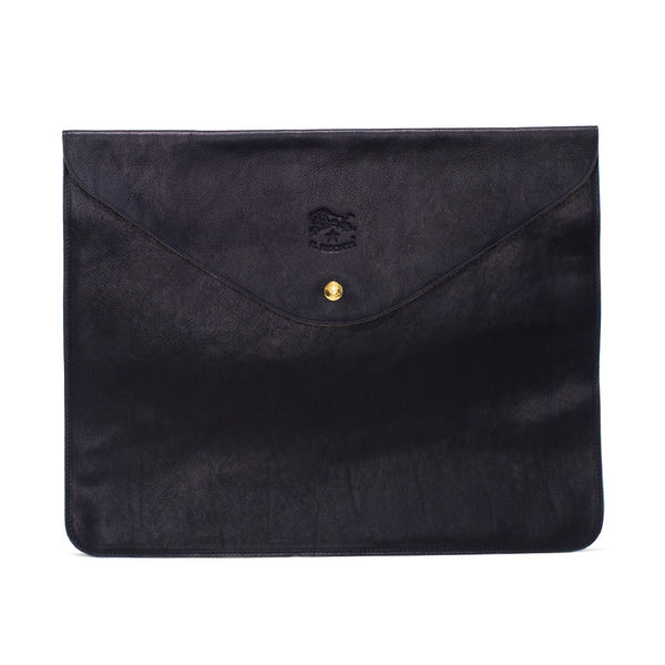 Cowhide Document Holder - Navy