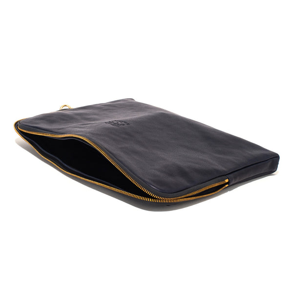 IL BISONTE - Cowhide Paper Case - Navy - MAN of the WORLD Online Destination for Men's Lifestyle - 3