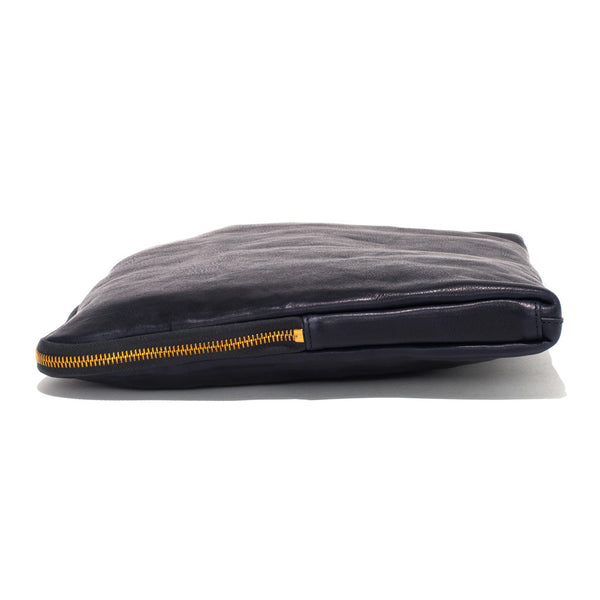 IL BISONTE - Cowhide Paper Case - Navy - MAN of the WORLD Online Destination for Men's Lifestyle - 2