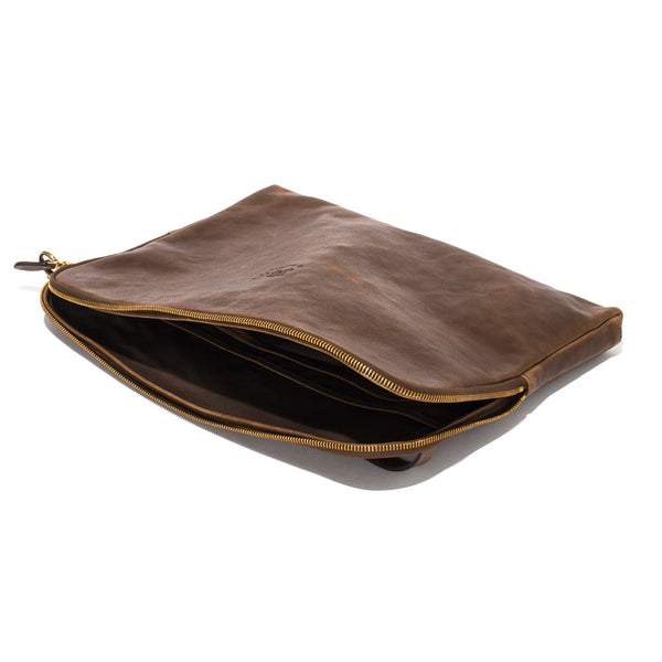 IL BISONTE - Cowhide Paper Case - Brown - MAN of the WORLD Online Destination for Men's Lifestyle - 5