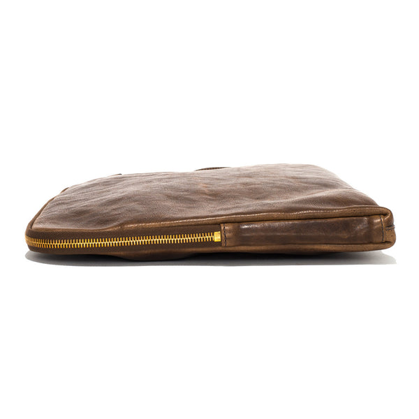 IL BISONTE - Cowhide Paper Case - Brown - MAN of the WORLD Online Destination for Men's Lifestyle - 4