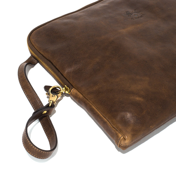 IL BISONTE - Cowhide Paper Case - Brown - MAN of the WORLD Online Destination for Men's Lifestyle - 3