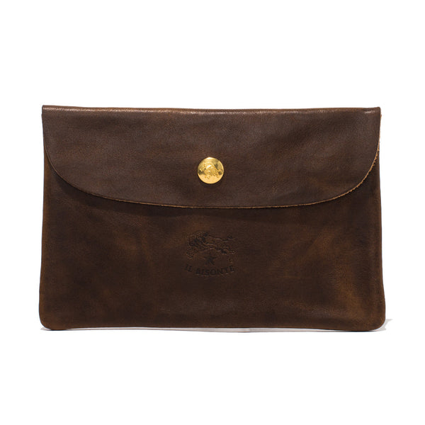 Cowhide Wallet - Brown