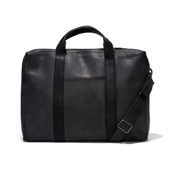 Leather Briefcase - Black