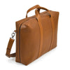 ISAAC REINA - Leather Briefcase - Dark Honey - MAN of the WORLD Online Destination for Men's Lifestyle - 2