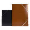 Leather and Elastic Folder