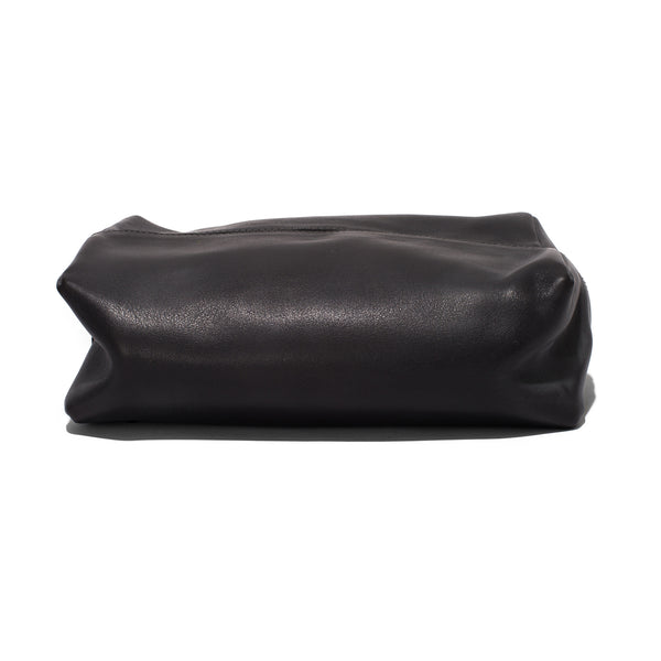 Leather Folding Travel Case - Charbon