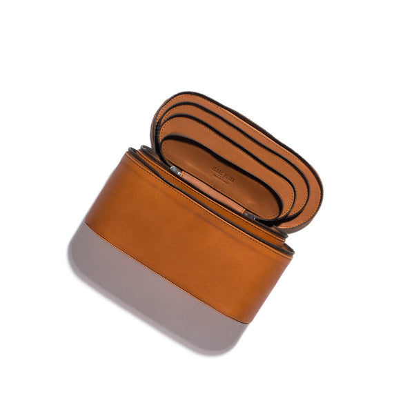 Zip Top Leather Case