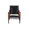 Kaare Klint - Safari Chair - Black Leather - MAN of the WORLD Online Destination for Men's Lifestyle - 2