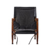 Kaare Klint - Safari Chair - Black Leather - MAN of the WORLD Online Destination for Men's Lifestyle - 4