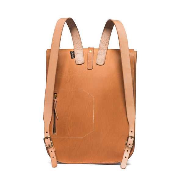 Kika NY - Fold Top Backpack - Natural - MAN of the WORLD Online Destination for Men's Lifestyle - 2