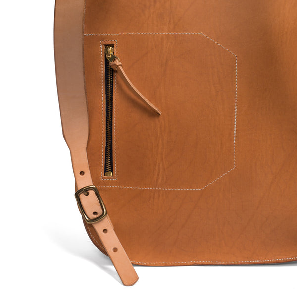 Kika NY - Fold Top Backpack - Natural - MAN of the WORLD Online Destination for Men's Lifestyle - 7