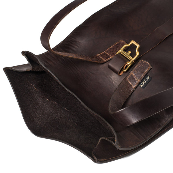 Kika NY - Roll Top Backpack - Walnut - MAN of the WORLD Online Destination for Men's Lifestyle - 8