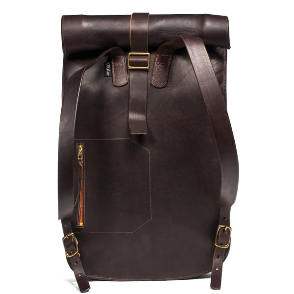 Kika NY - Roll Top Backpack - Walnut - MAN of the WORLD Online Destination for Men's Lifestyle - 2