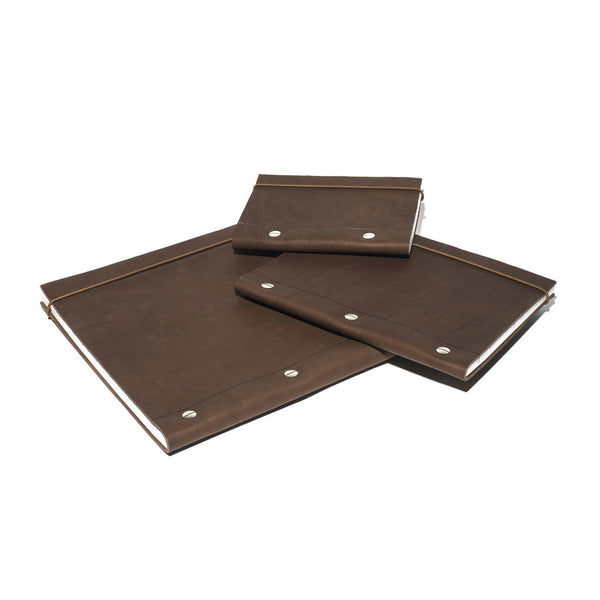 Brown French Leather Notebook